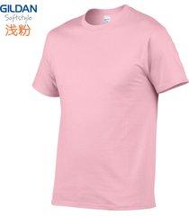 algodón cuello redondo deportes camiseta