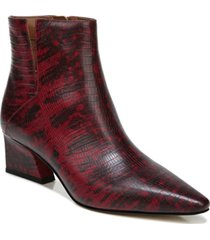 franco sarto sandria booties women's shoes
