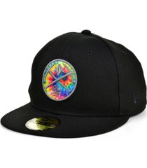 new era denver nuggets tie dye thread cap
