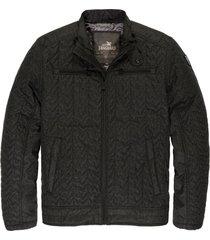 vanguard biker jacket tussenjas jet black