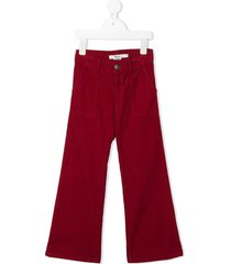 bonpoint flared corduroy trousers
