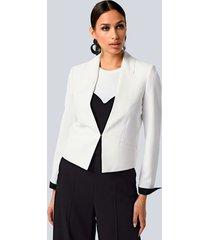 blazer alba moda wit