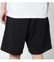 dsquared2 men's relax fit icon shorts - black/white - m