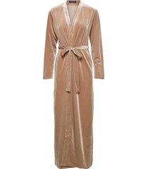 katrina robe morgonrock beige ow intimates