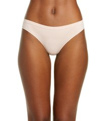women's b.tempt'd by wacoal comfort intended daywear thong, size large - pink