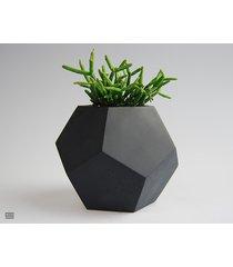 doniczka betonowa dodekahedron 3