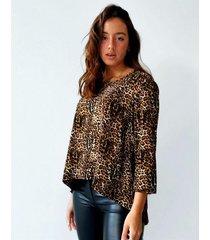 blusa marrón ytrio mooney