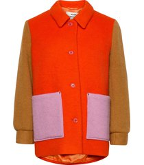 knitted wool costanna wollen jack jack oranje mads nørgaard