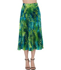 versace jungle midi skirt
