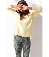 maurices womens yellow crew neck sweatshirt