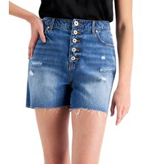 inc stretch-back shorts, created for macy's