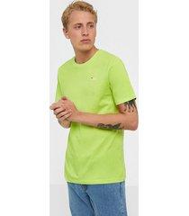 fila unwind 2.0 reg tee t-shirts & linnen green