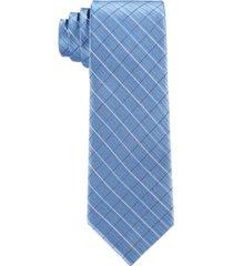 calvin klein big boys etched grid necktie