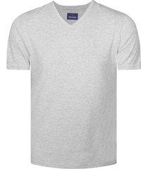 camiseta básica unicolor de manga corta para hombre freedom 00667