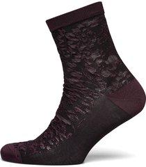 flory sora sock lingerie socks regular socks lila becksöndergaard