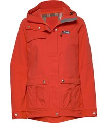 nordmarka w jkt outerwear sport jackets röd bergans