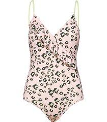 riviera swimsuit badpak badkleding roze by malina