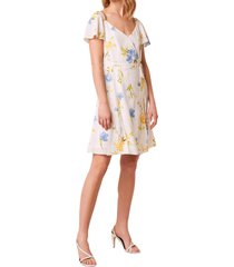 women's french connection eme crepe faux wrap dress