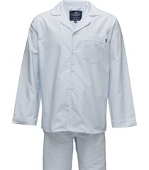 american authentic pajama pyjama blauw lexington home