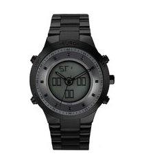 relógio euro feminino sporty lux preto eubj3889ac/4p