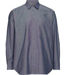 over shirt overhemd business blauw tonsure