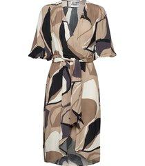 fontana wrap dress dresses everyday dresses brun just female