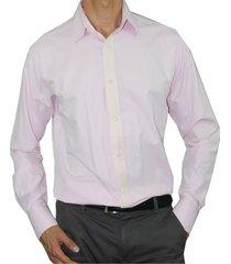 camisa slim fit cuello frances aranzazu charles rosado