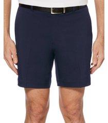 "pga tour men's 7"" flat-front golf shorts"