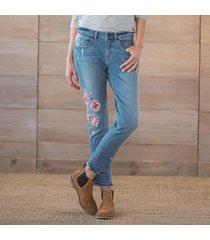 primrose floral jeans