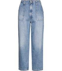 cargo pant ntslr raka jeans blå tommy jeans