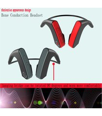 conducción de hueso audifonos bluetooth inalámbricos deportivos