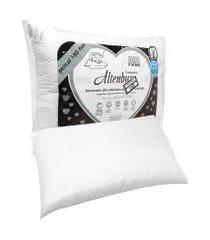 travesseiro altenburg anti sufocante 50x70cm branco