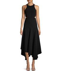 sleeveless cutout dress