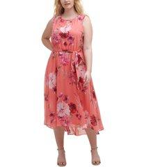 jessica howard plus size keyhole halter dress
