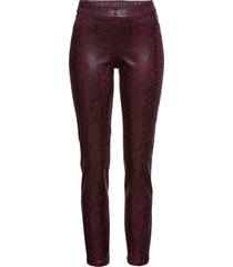 pantaloni pitonati (fucsia) - bodyflirt
