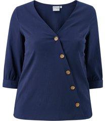 blus jrabine 3/4 sleeve shirt