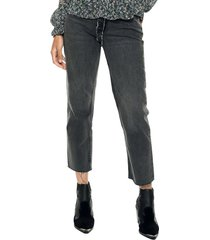 jeans negro mng