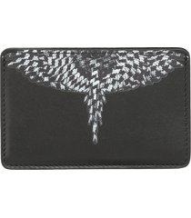 marcelo burlon pdp cross wings card holder