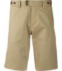 dolce & gabbana slim-fit tailored shorts - neutrals