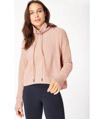 harmonise luxe fleece sweatshirt