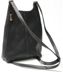 royce sling backpack in colombian genuine leather