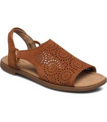 reyna swirl shoes summer shoes flat sandals brun clarks