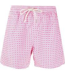 mc2 saint barth lightning micro fantasy swim shorts - pink