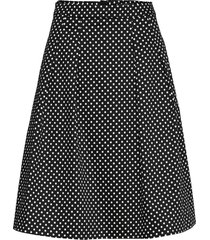 skirts woven knälång kjol svart esprit collection