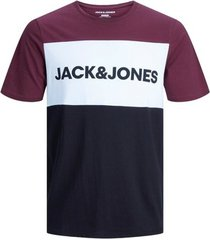 t-shirt jack & jones t-shirt logo blocking