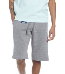 aviator nation cotton blend sweat shorts, size xx-large in heather grey at nordstrom