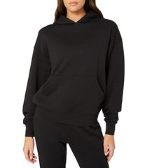 weworewhat women's oversized cotton hoodie - off white - size xl