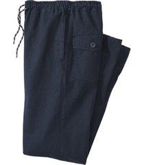 broek van bio-katoen, nachtblauw m