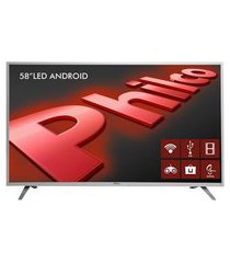 "smart tv philco android led 58"" ph58e20dsgwas bivolt"