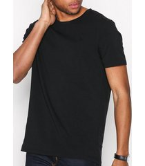 morris james tee t-shirts & linnen black